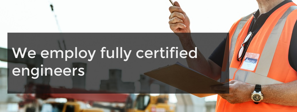 the ACE group fully certified engineer