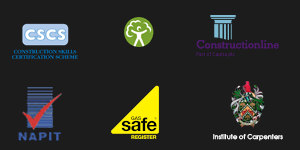 Credentials from certifying bodies including NAPIT, Gas Safe and Constructionline